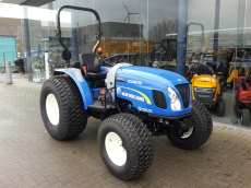 Mini tractor New Holland Boomer 50 hydrostaat (47PK) MET FREES 160 cm